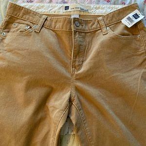 Gap low rise corduroy pants